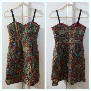 Nanette Lepore Silk Brocade Kharma Cocktail Dress
